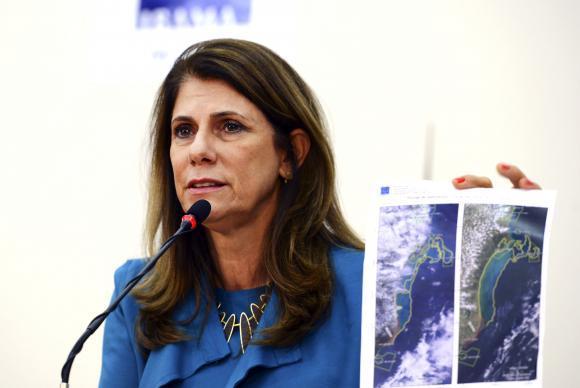 A presidente do-Ibama, Marilene Ramos fala sobre o desastre ecológico em Mariana/MG, cujas repercussões começam a ser percebidas em Abrolhos/BA (