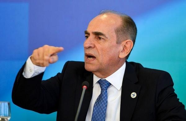 O ministro da Saúde, Marcelo Castro