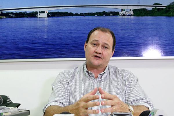 Secretário Estadual de Infraestrutura, Marcelo Migliori