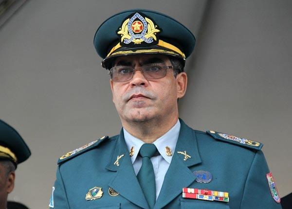 Novo Comandante-Gerald a PM, coronel Jorge Edgard Júdice Teixeira