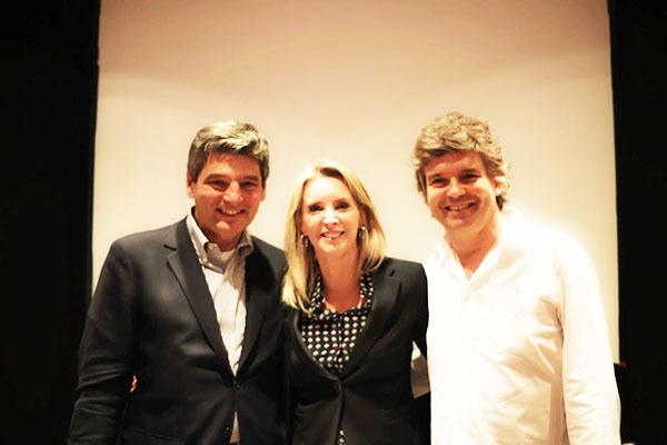 Em debate na Casa do Saber, Gustavo Tepedino, professor de Direito Civil da UFRJ, a tabeliã Fernanda Freitas e documentarista João Jardim