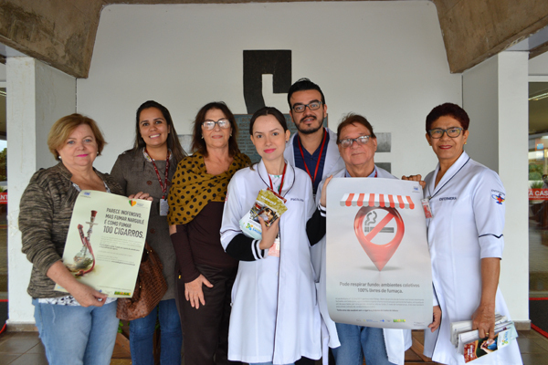 Existente a 14 anos, o Tratamento do Tabagismo no serviço de psiquiatria realiza o trabalho com pacientes que desejam parar de fumar