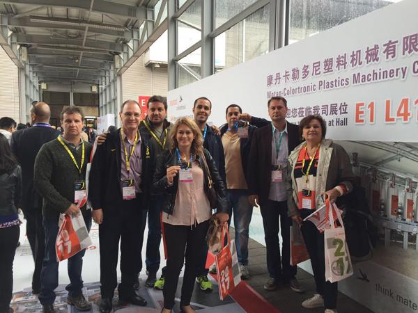 A missão empresarial à 30ª edição da Feira Chinaplas, foi realizada de 25 a 28 de abril, em Xangai, na China