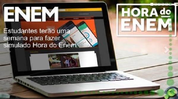 Qualquer interessado que estiver se preparando para o Enem poderá participar, basta se cadastrar no site horadoenem.mec.gov.br