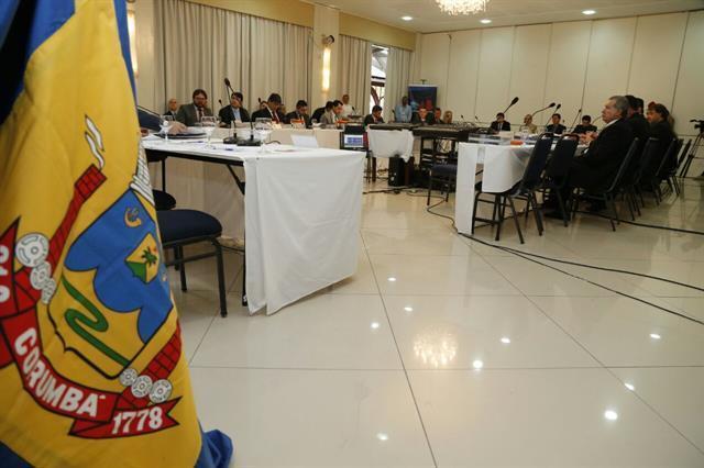 O encontro aconteceu nessa quinta-feira (23) no Hotel Nacional, em Corumbá