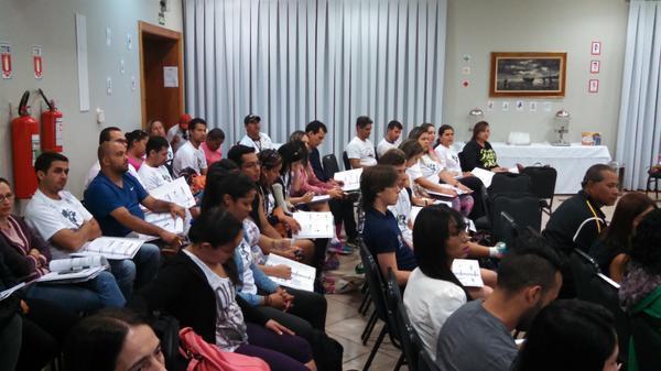 Para essa formação, que vai até as 16h, são esperados cerca de 100 professores de sete municípios