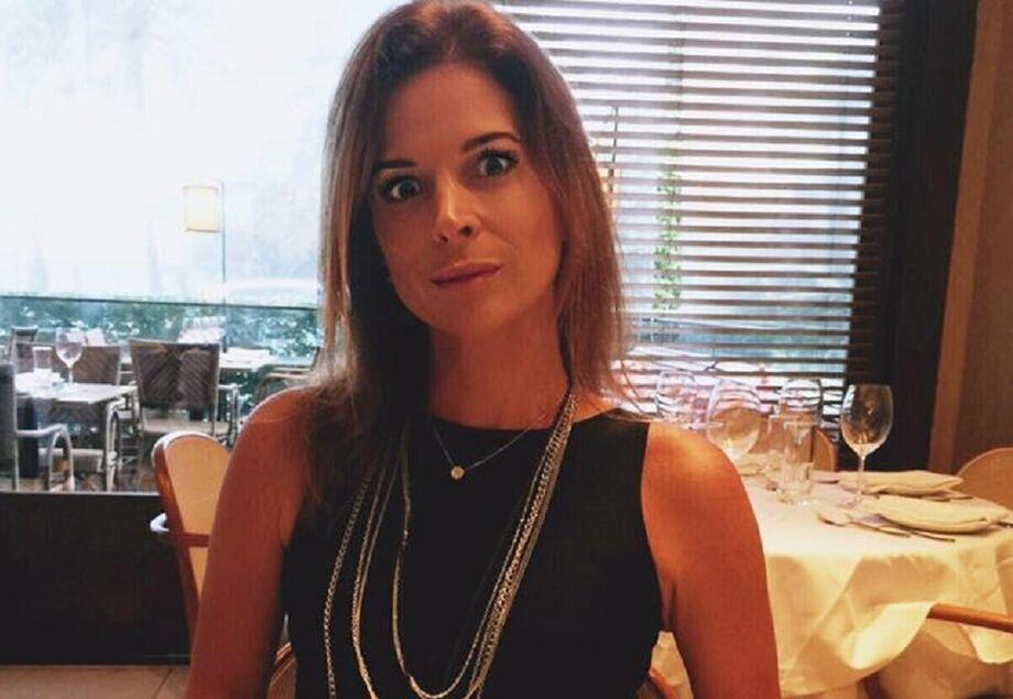A jornalista Cláudia Cruz tem uma empresa de comunicação