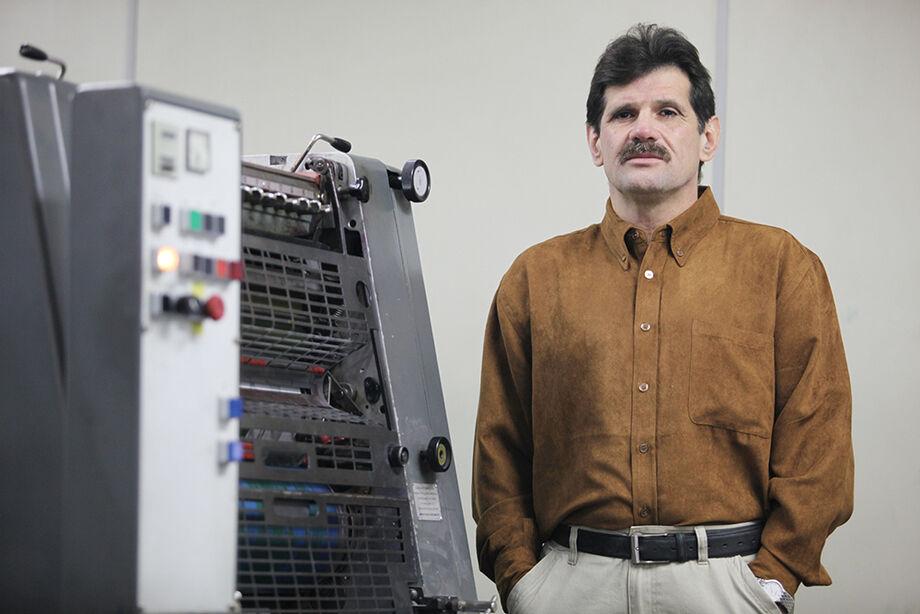 Presidente da Sindigraf/MS (Sindicato das Indústrias Gráficas de Mato Grosso do Sul), Julião Gaúna.