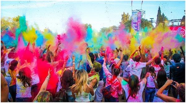 Festa das cores será no shoppping Bosque dos Ipês