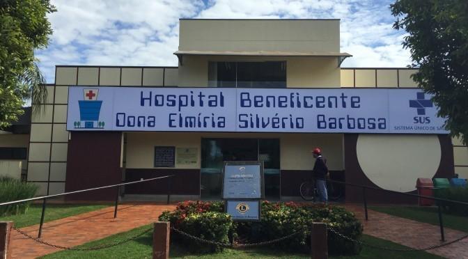 Cirurgias serão realizadas no Hospital Sociedade Beneficente Dona Elmíria Silvério
