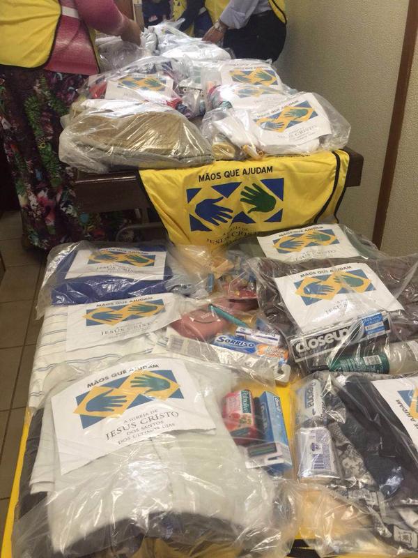 De acordo com informações dos organizadores, membros da igreja, os voluntários se reúnem às 8h30 na sede da Capela do Centro, que fica na Rua João Rosa Pires, 859
