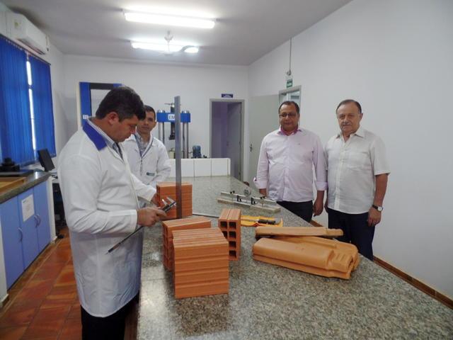 LabSenai Cerâmica passou pela 4ª auditoria do Inmetro