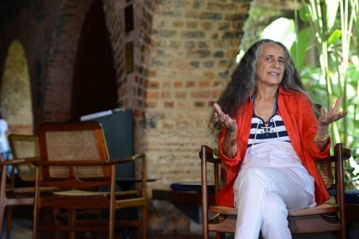 Maria Bethânia nasceu em 1946, na cidade baiana de Santo Amaro da Purificação