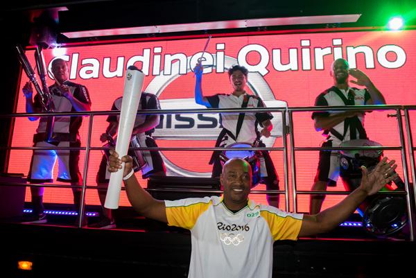 Preocupado com o futuro do atletismo no Brasil e também com a educação, Claudinei criou o projeto Talento Olímpico, que atende 840 crianças em Presidente Prudente