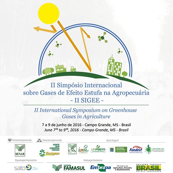 O simpósio é promovido pelo Sistema Famasul e pela Embrapa Gado de Corte - Empresa Brasileira de Pesquisa Agropecuária, em parceria com diversas instituições públicas e privadas