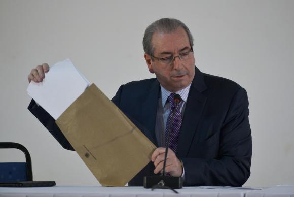 O presidente afastado da Câmara, Eduardo Cunha espera anular a decisão do Conselho de Ética