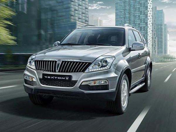 Os veículos, da marca SsangYong, modelo Rexton 3.2, foram comprados através de um convênio
