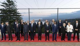 Reunidos na Itália, os membros do G7 - Reino Unido, Estados Unidos, Canadá, Japão, Itália, Alemanha e França - discutiram vários temas mundiais