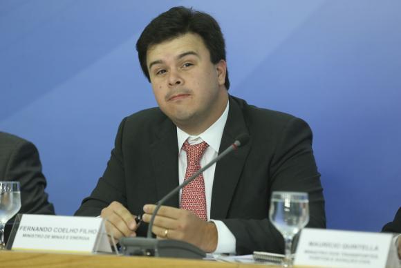 Brasília - O ministro de Minas e Energia, Fernando Coelho Filho, fala sobre os novos projetos de concessões à iniciativa privada (Valter Campanato/Agência Brasil)