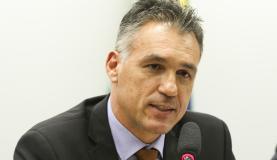 Brasília - O presidente dos Correios, Guilherme Campos, participa de audiência conjunta das comissões de Ciência, Tecnologia, Comunicação e Informática; de Direitos Humanos e Minorias; de Finanças e Tr