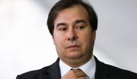 Brasília - O presidente da Câmara dos Deputados, Rodrigo Maia, durante entrevista fala sobre a aprovação da reforma trabalhista ( Marcelo Camargo/Agência Brasil)