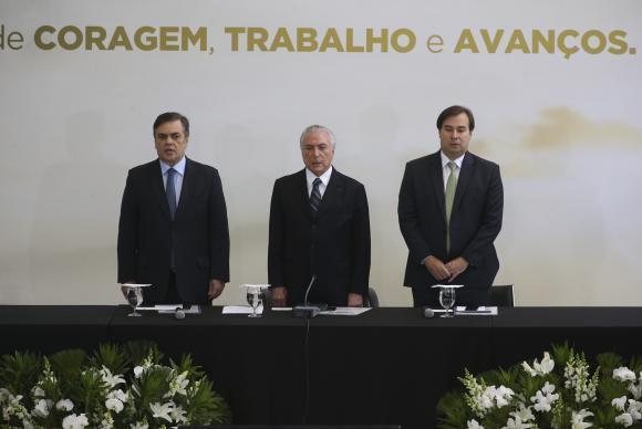 Brasília - Reunião ministerial para balanço de um ano de governo (Antonio Cruz/Agência Brasil)