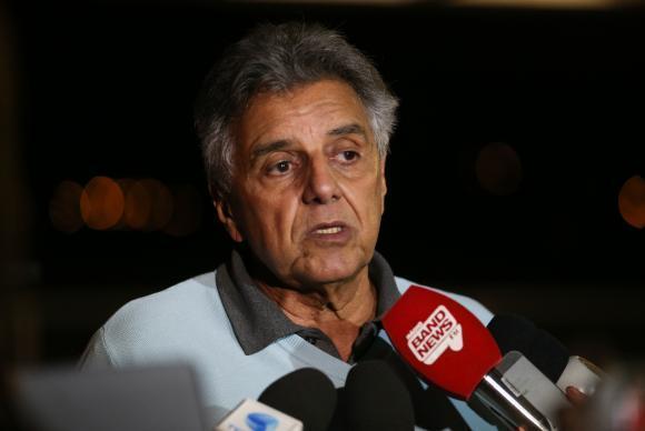 Brasília - Deputado Beto Mansur fala à imprensa no Palácio da Alvorada (José Cruz/Agência Brasil)