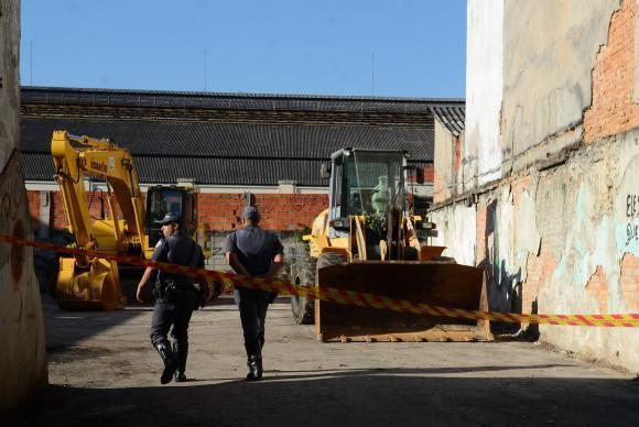 São Paulo - Prefeitura começa a demolição de prédios na região próxima à praça Julio Prestes, conhecida como Cracolândia (Rovena Rosa/Agência Brasil)