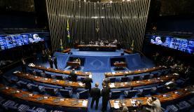 Brasília - Plenário do Senado aprova Medida Provisória 763/2016, que permite o saque das contas inativas do Fundo de Garantia do Tempo de Serviço (FGTS) (Marcelo Camargo/Agência Brasil)