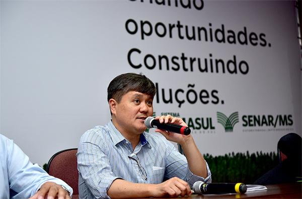 Mauricio Saito será o debatedor