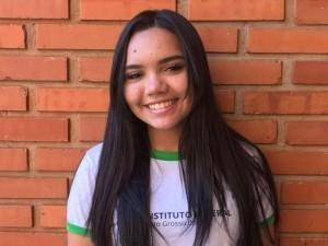 Annie foi selecionada para intercâmbio em parceria com o Rotary