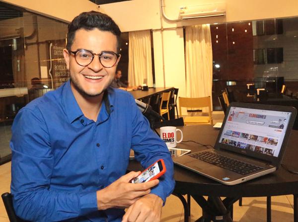 O youtuber e jornalista multimídia Eldo Gomes, fez uma ação no seu canal do youtube e levará 02 convidados