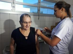 Campanha de vacinação contra a Gripe segue até o dia 26 de maio. (Foto: Assessoria/SESAU)