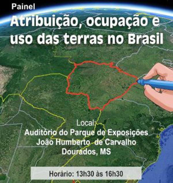 Atribuição, ocupação e uso das terras no Brasil é o tema do Simpósio de Agricultura da Embrapa