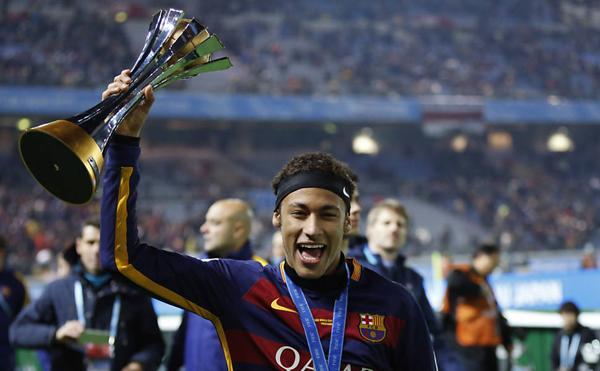 O atacante se prepara para a última partida do Barcelona no Campeonato Espanhol