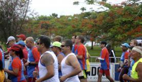 Rio de Janeiro - Corrida de São Sebastião, no Parque do Flamengo. A corrida abre o calendário oficial de eventos esportivos da cidade, no ano em que o Rio sediará os Jogos Olímpicos (Tânia Rêgo/Agência