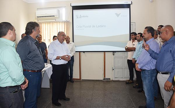 Apresentação do projeto da Orla Fluvial de Ladário