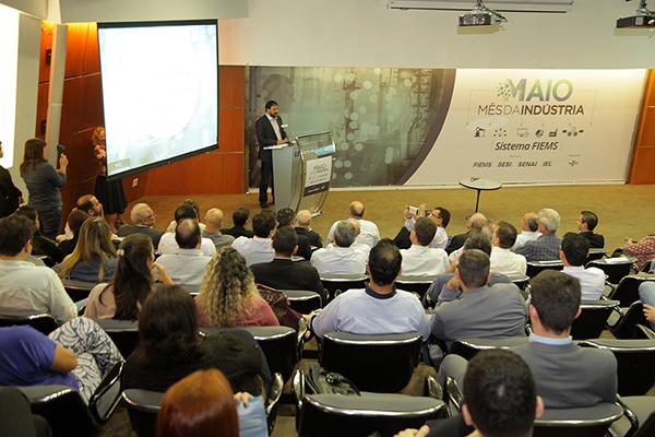 Lançamento do Cadastro Industrial na FIEMS