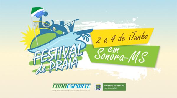 A primeira edição do Festival de Praia está marcada para os dias 2 a 4 de junho