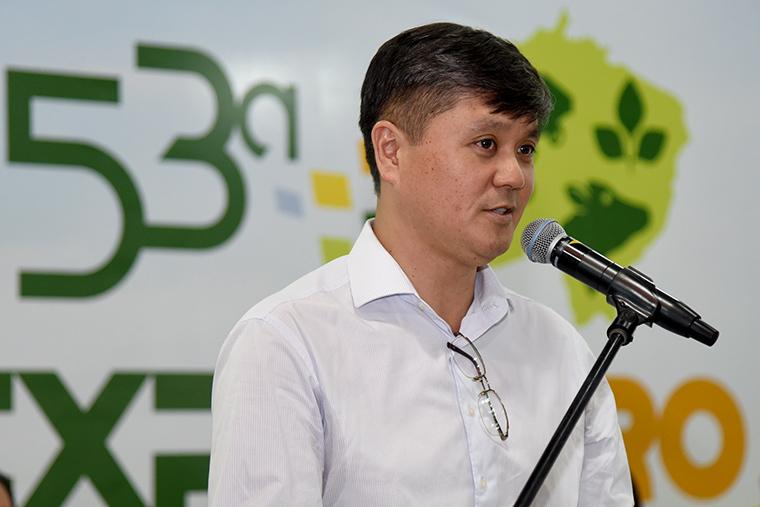 Presidente do Sistema Famasul – Federação da Agricultura e Pecuária de MS, Mauricio Saito