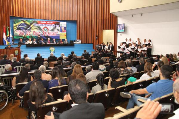 Sessão solene foi realizada no Plenário Júlio Maia na noite desta sexta-feira