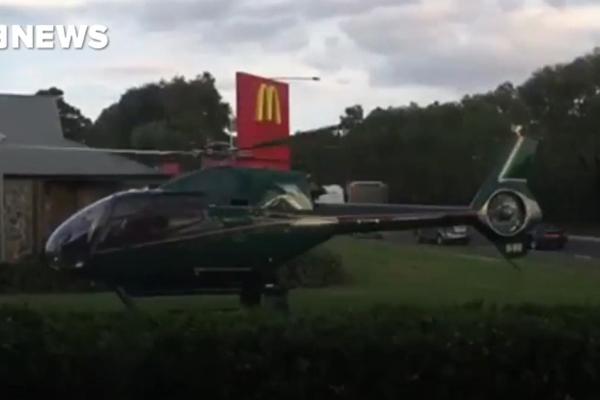 A rede de fast food disse que todos seu clientes são bem-vindos desde que desde que cheguem e partam em segurança