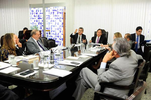 O senador Romero Jucá (PMDB-RR) confirmou que haverá requerimento de urgência, mas disse que a aprovação do mérito ainda nesta quarta vai depender do Plenário