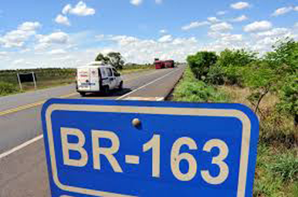 Acidente aconteceu próximo a Bandeirantes, na BR-163, km 558