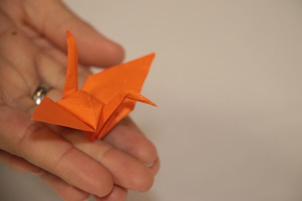 O símbolo da campanha é o tsuru, pássaro sagrado do Japão que representa sorte, saúde, longevidade e felicidade