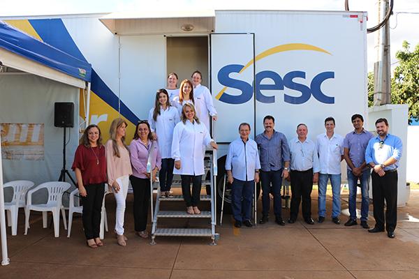 O presidente do Sistema Fecomércio MS, Edison Araújo, destacou a importância do projeto nas cidades de Mato Grosso do Sul