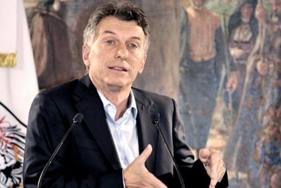 candidato à Presidência da Argentina Mauricio Macri