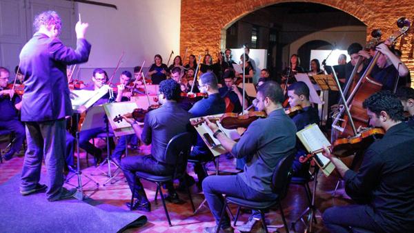 O prefeito Marquinhos Trad e a secretária municipal de Cultura e Turismo, Nilde Brun, foram impactados com a potencialidade do grupo