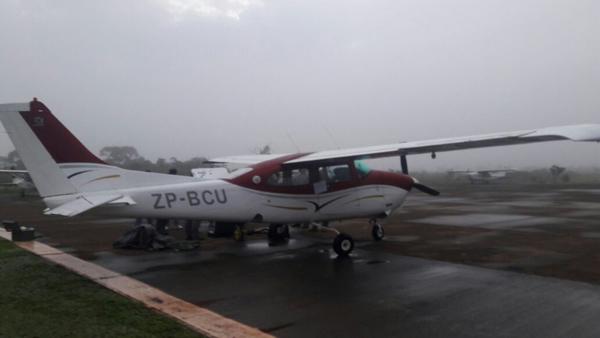 Operação na segunda-feira (29) foi para desarticular estrutura aérea do PCC no Paraguai, segundo Secretaria Nacional Antidrogas