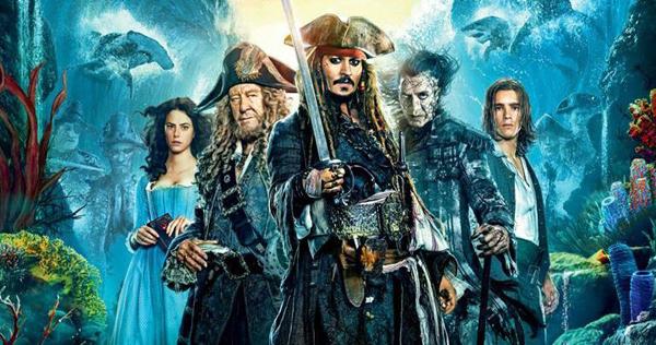 Piratas do Caribe: A Vingança de Salazar encontrou bons ventos nas bilheterias norte-americana e conquistou o primeiro lugar em seu fim de semana de estreia, com US$ 62,2 milhões de sexta a domingo